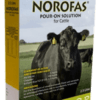 NOROFAS CATTLE POUR ON 1L-0