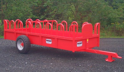 PORTEQUIP TOMBSTONE CATTLE FEED TRAILER 16 x 6 ( FT161T )-0