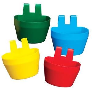 CAGE CUPS PLASTIC RED-0