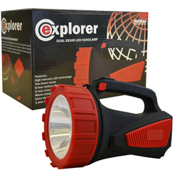 HOTLINE EXPLORER LITHIUM BATTERY RECHARGEABLE TORCH-0